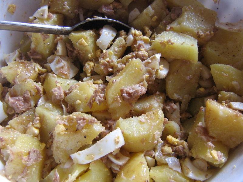 Salade De Pommes De Terre Ma P Tite Ratatouille